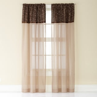 Westgate Poletop Sheer Single Curtain Panel