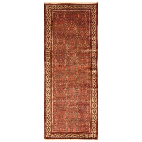 Handmade One-of-a-Kind Hamadan Wool Rug (Iran) - 6' Runner