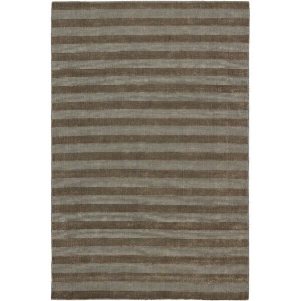 "ECARPETGALLERY Hand-knotted Luribaft Gabbeh Riz Beige Wool Rug - 5'2"" x 7'10"""
