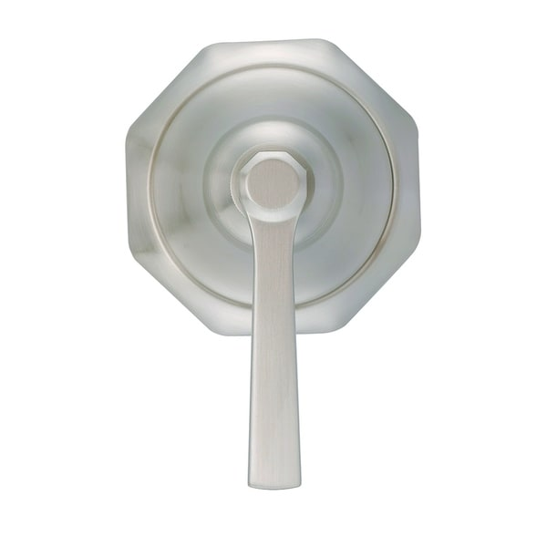 Draper 1H Trim Kit for 3-Port/2-Outlet Shower Diverter & 4-Port/3-Outlet Shower Diverter Brushed Nickel