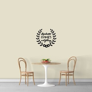 Kidness Changes Everything Wall Decal