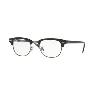Ray-Ban Clubmaster RX5154 Unisex Black On Texture Camuflage Eyeglasses - black on texture camuflage