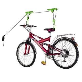 Bike Lane Bicycle Storage Lift Bike Hoist 100LB Capacity Heavy Duty 2 Pack