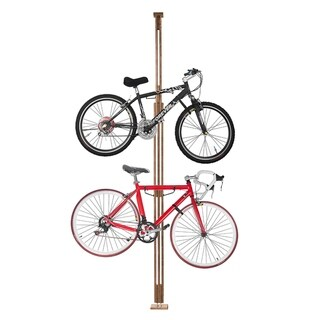 RAD Cycle Woody Bike Stand Bicycle Rack  Holds Two Bicycles