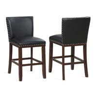 Toledo Black Counter Stool - Set of 2 by Greyson Living