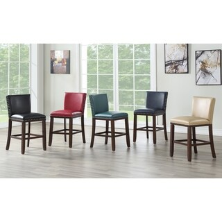 Toledo Navy Counter Stool - Set of 2 by Greyson Living