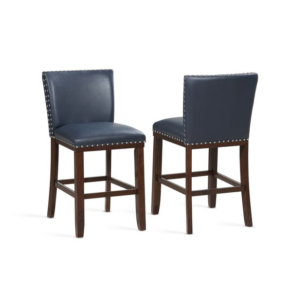 Marvelous Buy Blue Wood Counter Bar Stools Online At Overstock Beatyapartments Chair Design Images Beatyapartmentscom