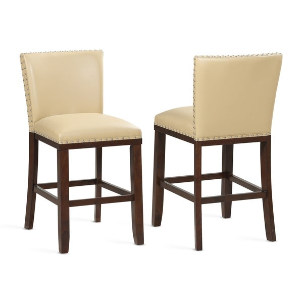 Toledo Toffee Counter Stool - Set of 2 by Greyson Living