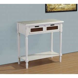 Best Quality Furniture Distressed Vintage Console Table