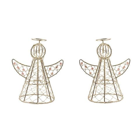 Handmade Halo Angels Set of Two (India)