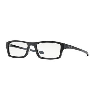 Oakley Chamfer OX8039 Men Satin Black Eyeglasses