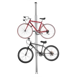 RAD Cycle Aluminum Bike Stand Bicycle Rack Holds Two Bicycles