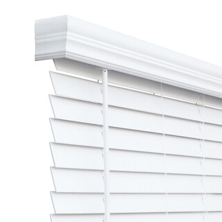 Chicology Cordless 2-inch Faux Wood Blinds
