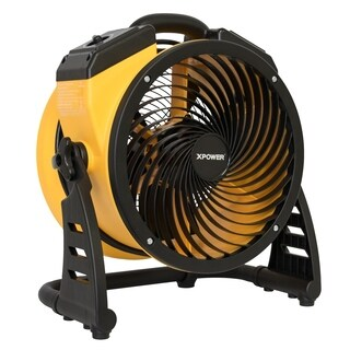 "XPOWER FC-100 1100 CFM 4 Speed Portable Multipurpose 11"" Pro Air Circulator Utility Fan"