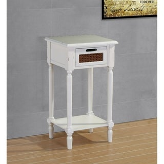 Best Quality Furniture Distressed Vintage End Table