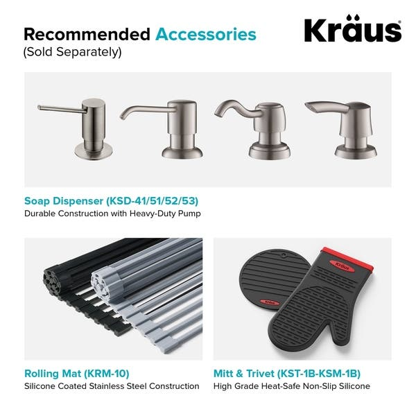Incredible Shop Kraus Kht300 33 Topmount Drop In 33 Inch Stainless Home Interior And Landscaping Palasignezvosmurscom