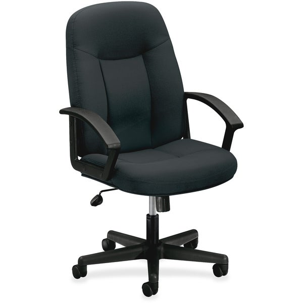 Shop Lorell Wellness By Design Black Fabric Accucel Chair Free