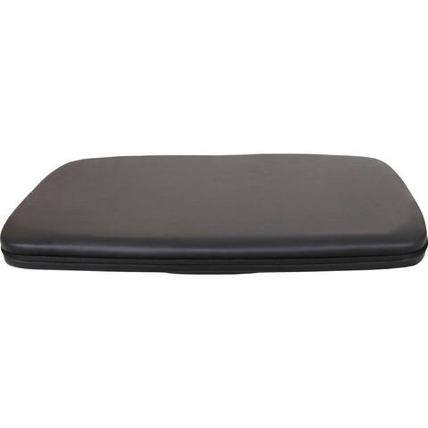 "Lorell Active Balance Board - Footrest, 22-1/4""Wx17-9/10""Lx3-1/10""H,BK"