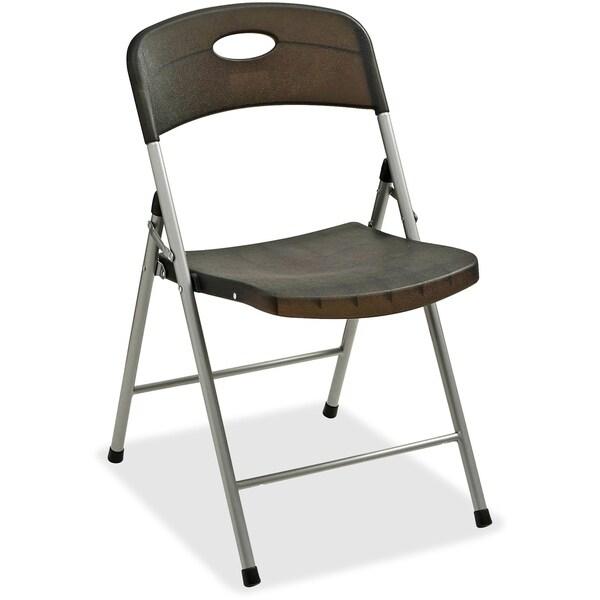 Lorell Translucent Folding Chairs (Set of 4)