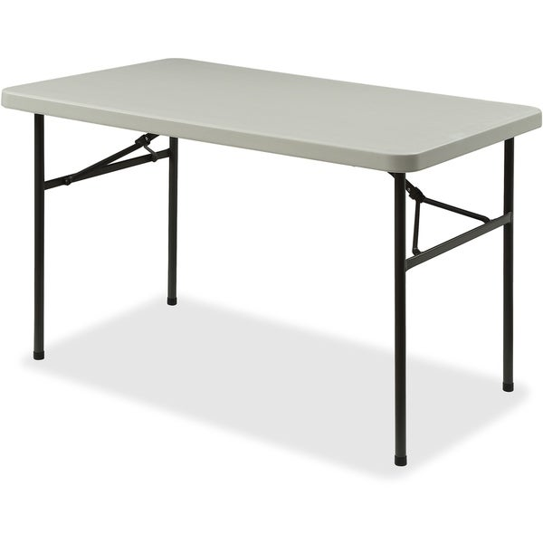 "Lorell Banquet Table - Light Duty,450 lb Cap.,48""x30""x29"",PM/GY"