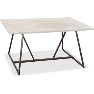 """Safco Teaming Table - Sitting, Steel/Laminate, 60""""x48""""x29-1/2"""", WWE"""