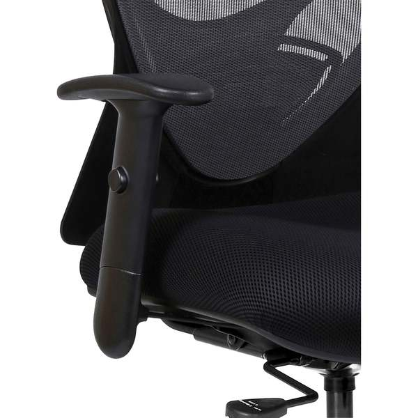 Lorell Two-way Adjustable Arm Kit for Lorell Mesh Mid-Back Swivel/Tilt Task Chairs