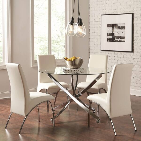 Overstock Round Dining Table Set