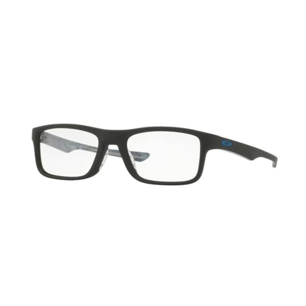 e80415d9b26 Shop Oakley Plank 2.0 OX8081 Unisex Satin Black Eyeglasses - Satin ...