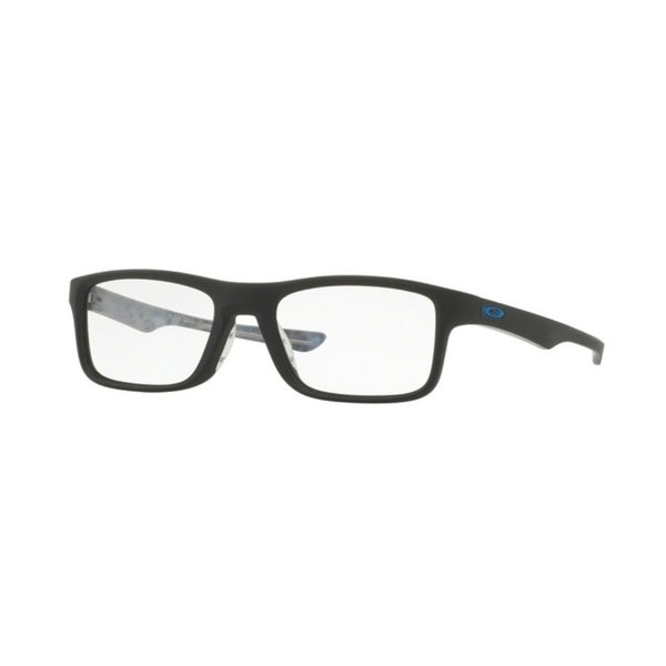 6fcd3fa070a Shop Oakley Plank 2.0 OX8081 Unisex Satin Black Eyeglasses - Satin ...