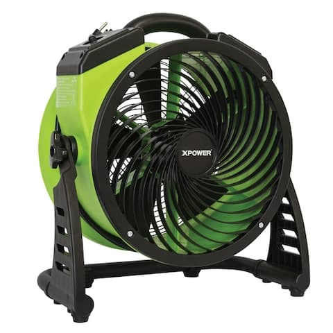 "XPOWER FC-200 1300 CFM 4 Speed Portable Multipurpose 13"" Pro Air Circulator Utility Fan"