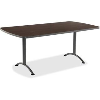 "Iceberg Utility Table - Rectangular Table, 36""x72"", Walnut"