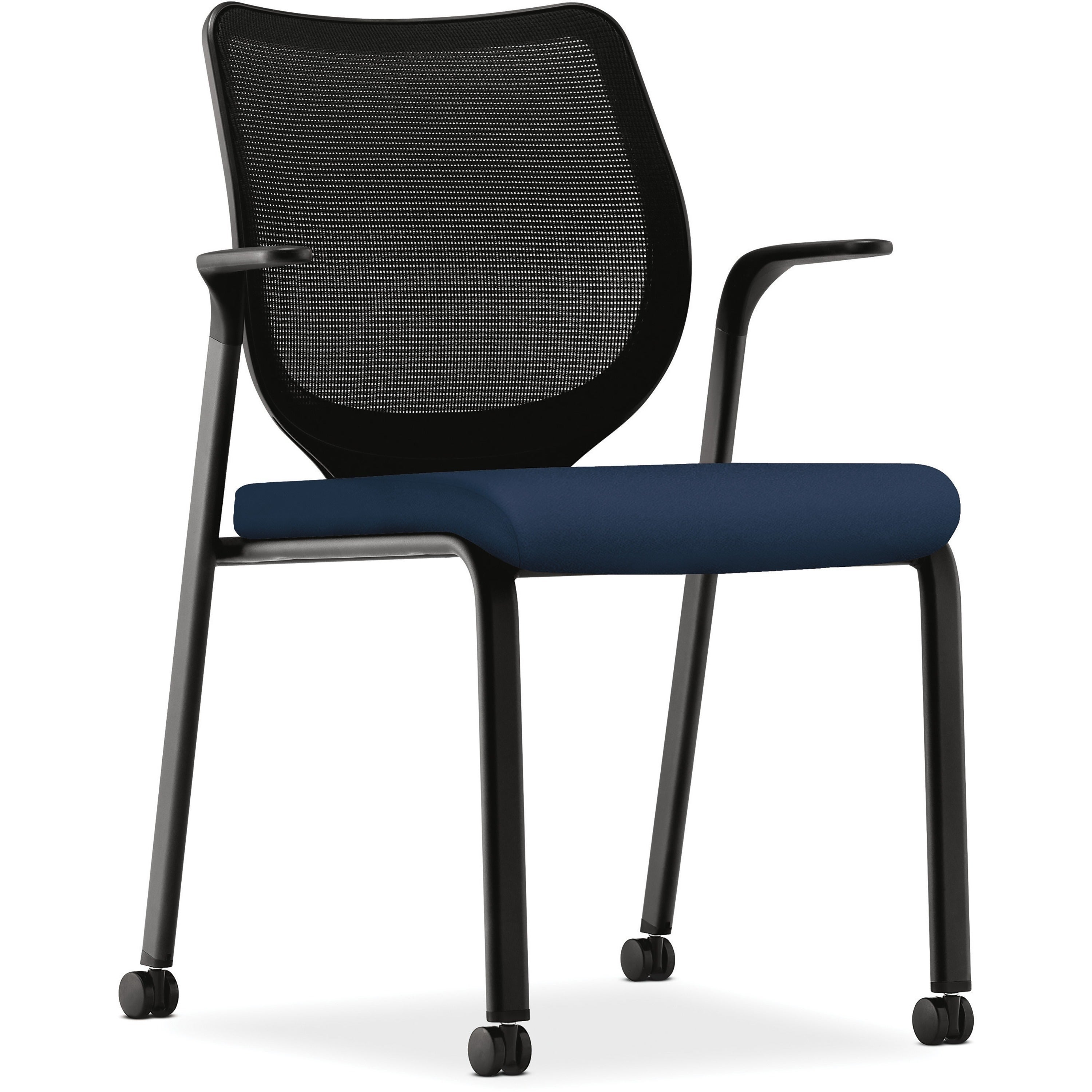 Ordinaire Shop HON Ignition Centurion Navy Fabric Chair   Free Shipping Today    Overstock   23561651