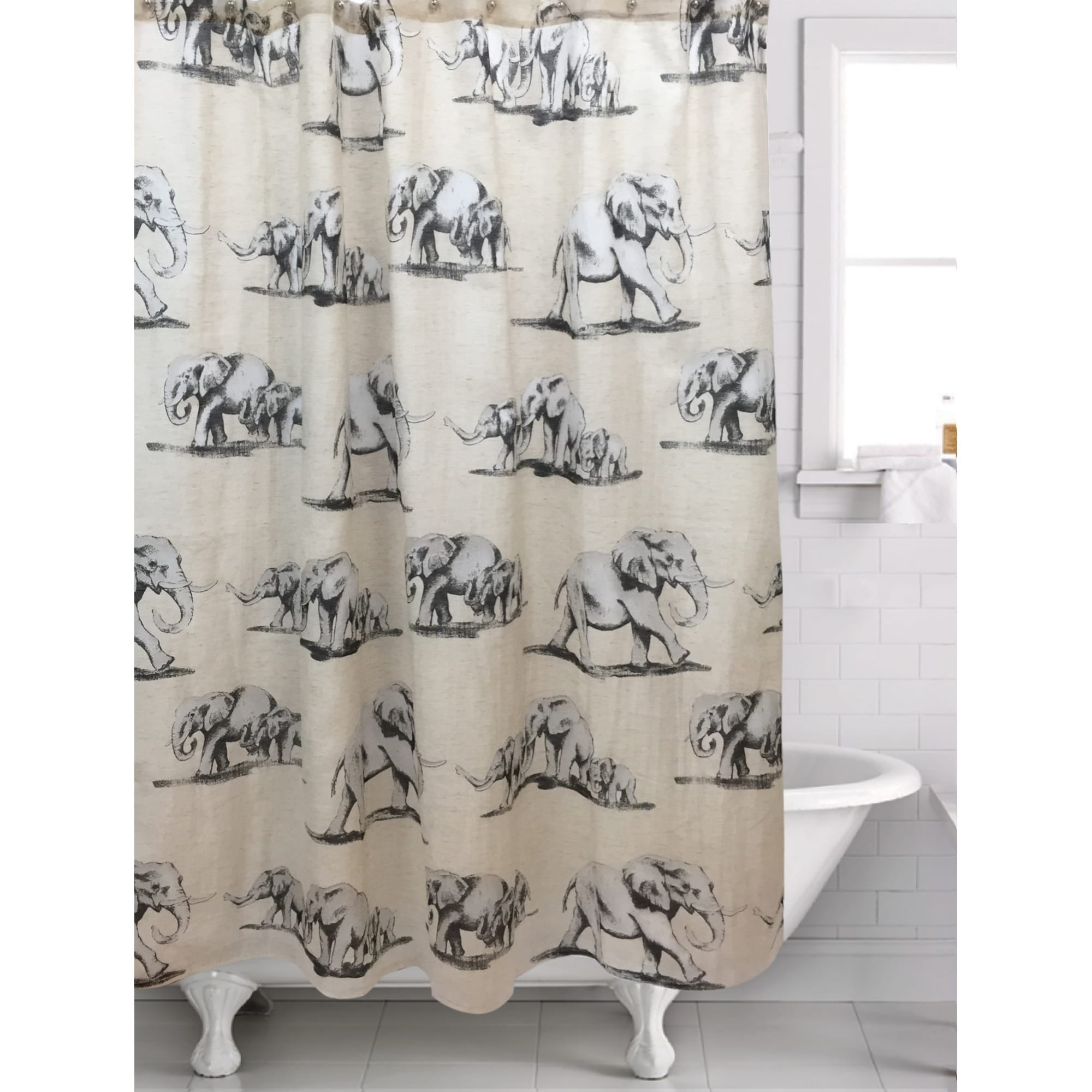 Ghana Shower Curtain 70 X 72