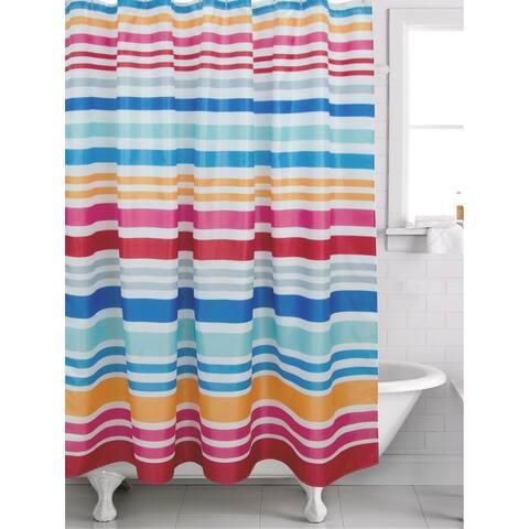 Hip Sripe Magenta Shower Curtain - 70' x 72'