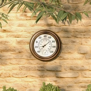 """Wall Thermometer and Hygrometer Humidity Gauge-5.5"""" by Pure Garden"""