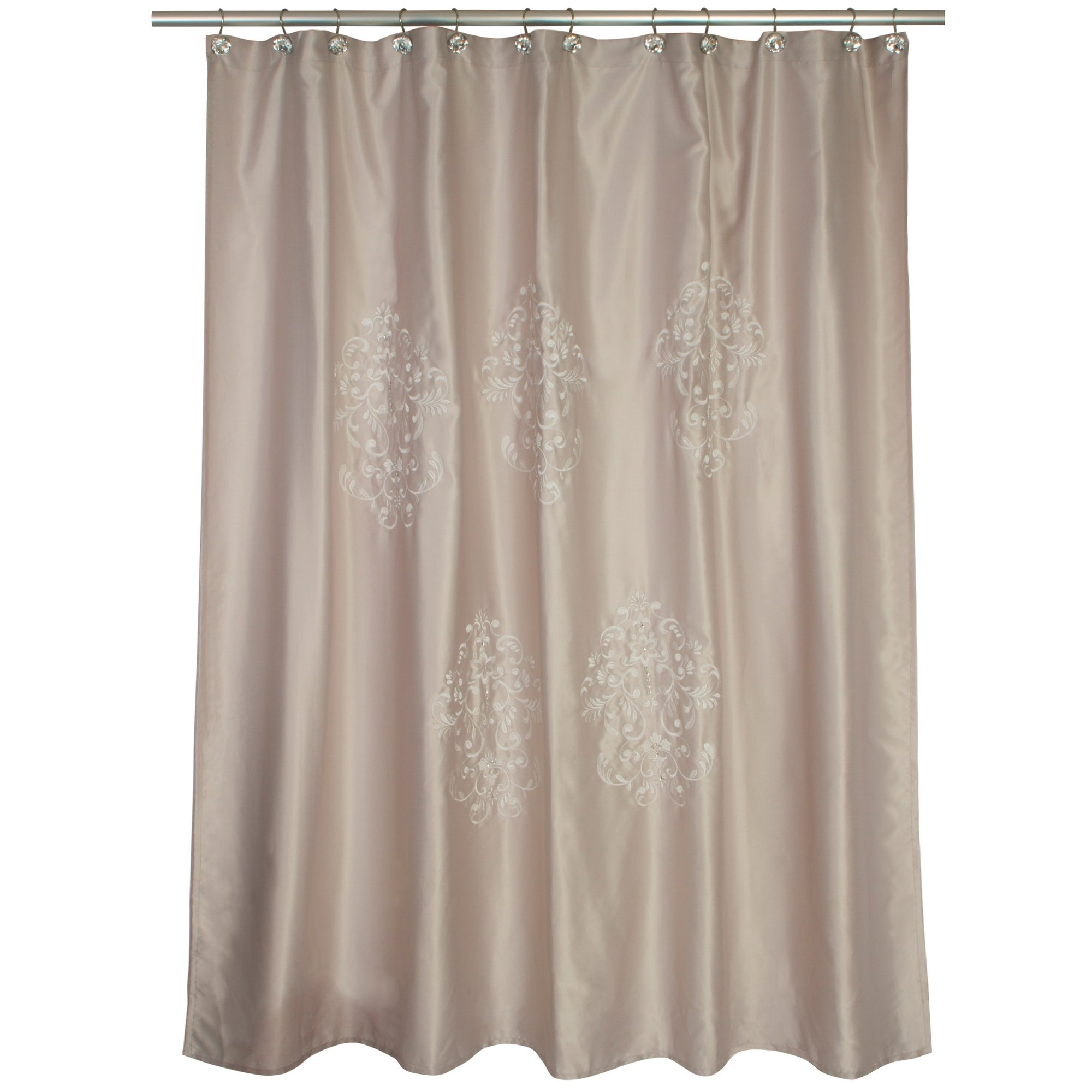 Contempo Beige Shower Curtain 70 X 72 Overstock 23561689