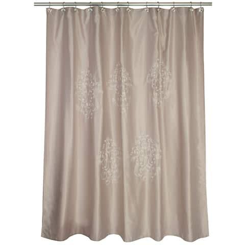 Contempo Beige Shower Curtain - 70' x 72'
