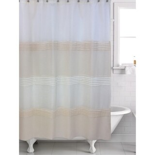 Trella Taupe Shower Curtain - 70' x 72'