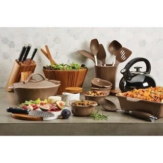 Anolon Vesta Ceramics Kitchen Tool Crock, Umber