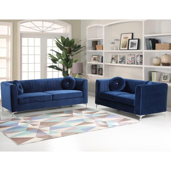 Best Master Furniture 2 Pieces Living Room Set