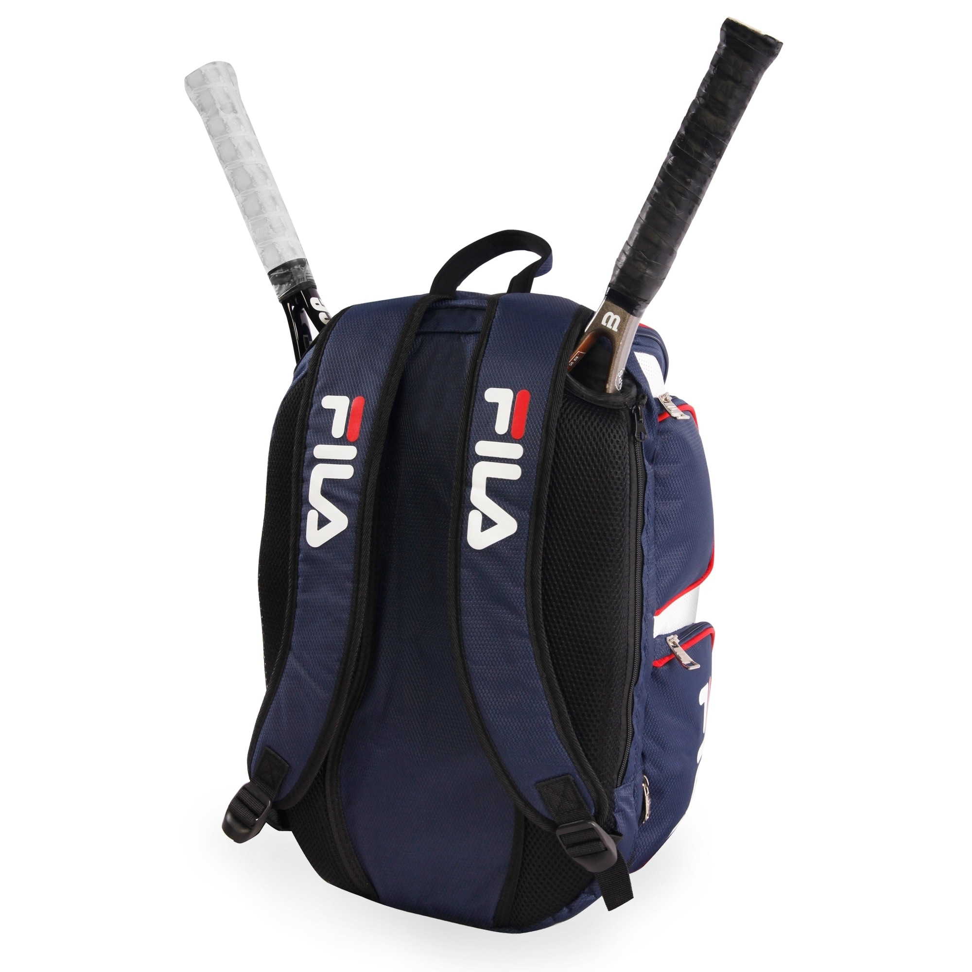 FILA Heritage Tennis Backpack Black One Size for sale online