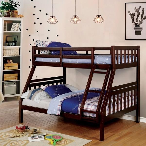 Shop Furniture Of America Clifford Slatted Bunk Bed