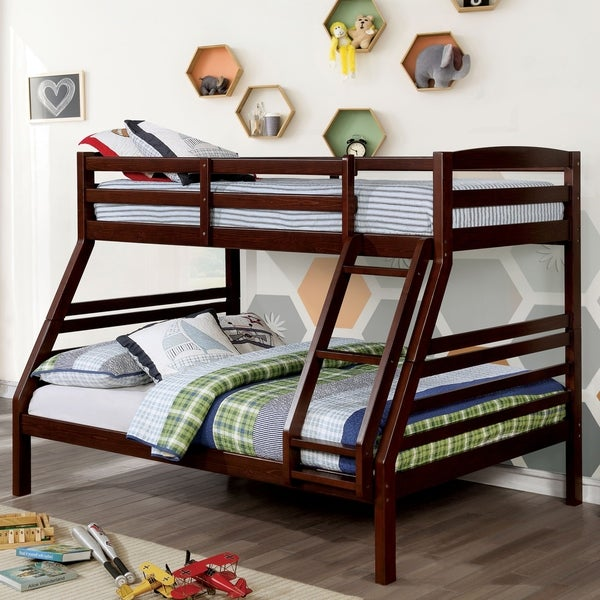 Shop Furniture Of America Ty Transitional Bunk Bed On Sale Free