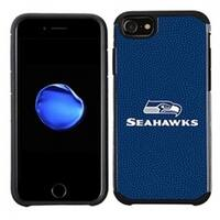 Seattle Seahawks Slim Hybrid Texture Case for Apple iPhone 6 / 6S / 7 / 8