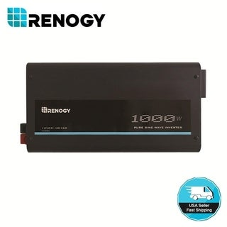 Renogy 1000W 12V Pure Sine Wave Inverter with Power Saving mode