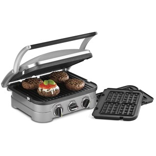 Cuisinart GR-4NWFR Griddler With Waffle Plates (Refurbished)