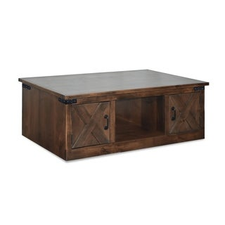 The Gray Barn Sycamore Rise Farmhouse Aged Whiskey Coffee Table