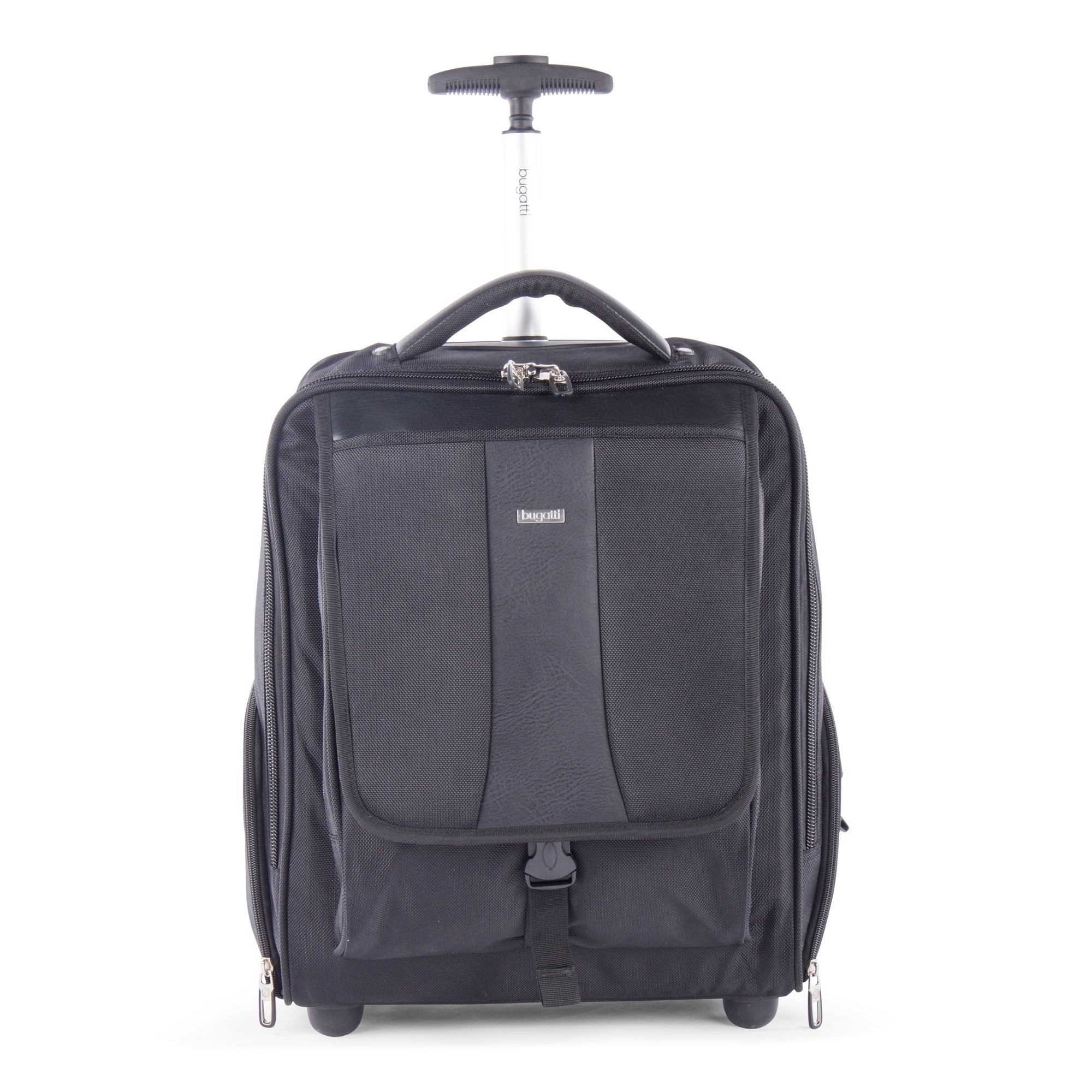 Shop Bugatti Gregory Backpack On Wheels In Black Overstock 23564474