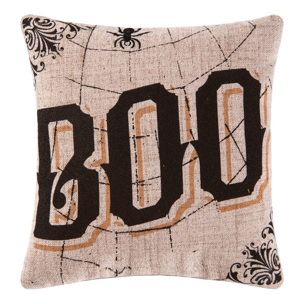Shop Goth Boo Printed Embroidered 40x40 Throw Pillow On Sale Delectable 10x10 Decorative Pillows