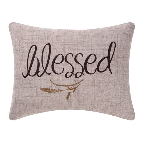 Blessed Printed 12x15 Throw Decorative Accent Throw Pillow